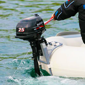Как приклеить навесной транец на надувную лодку