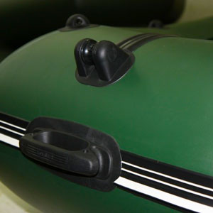 Якорное оборудование для ПВХ лодок : Рым-ролик, рым-утка, рым-буксир