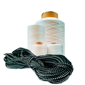Шнуры плетёные, лески и капроновые нити