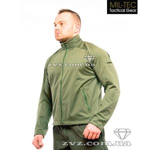 Кофта Mil-Tec Soft Shell Professional Light (Lev.ll) Olive 48-62р.